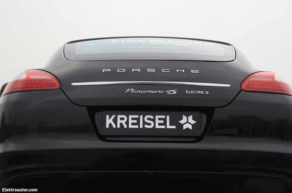 Weltpremiere auf der Automesse Salzburg: Electric Porsche Panamera