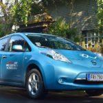 Nissan Leaf Tekna - Fahrbericht der Probefahrt   Nissan Leaf