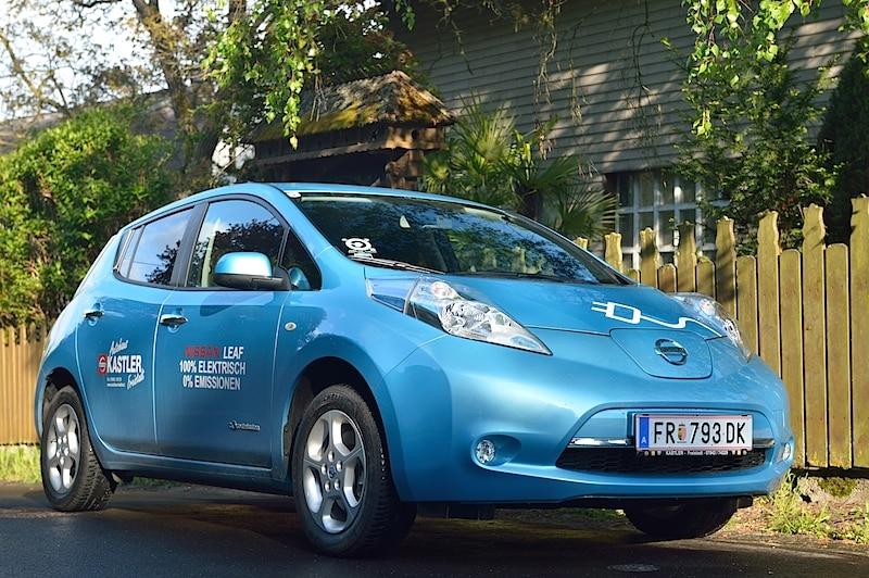 Nissan Leaf Tekna – Fahrbericht der Probefahrt