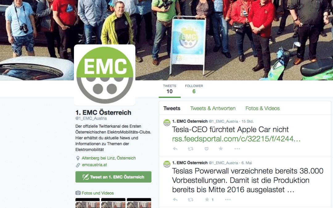 Folge dem EMC nun auch auf Twitter