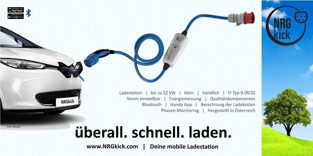 22KW NRGkick kaufen und GRATIS Adapter (32A -> 16A) erhalten
