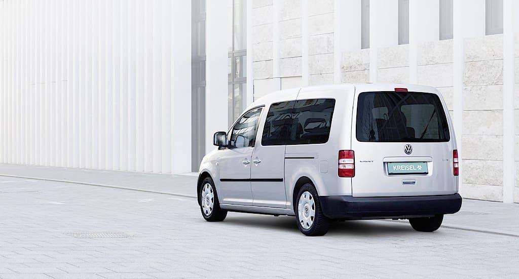 VW Caddy als Elektroauto: Der Kreisel e-Caddy mit 350km Reichweite im Praxistest
