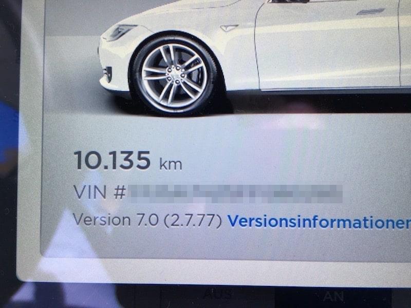 Erfahrungsbericht: Tesla Model S Firmware 7.0