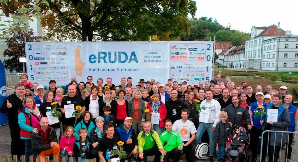 Teilnahme an der eRUDA 2015 – elektrisch Rund Um Den Ammersee