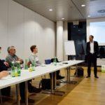 Der Experten-Workshop bei der Linz-AG - Elektromobilität aus der Sicht der Erzeuger   Infrastruktur Workshop Gruppe 02