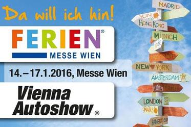 """Wir verlosen 5 x 2 GRATISKARTEN für die """"Vienna Autoshow"""" 2016 (UPDATE: Alle Karten verlost)"""