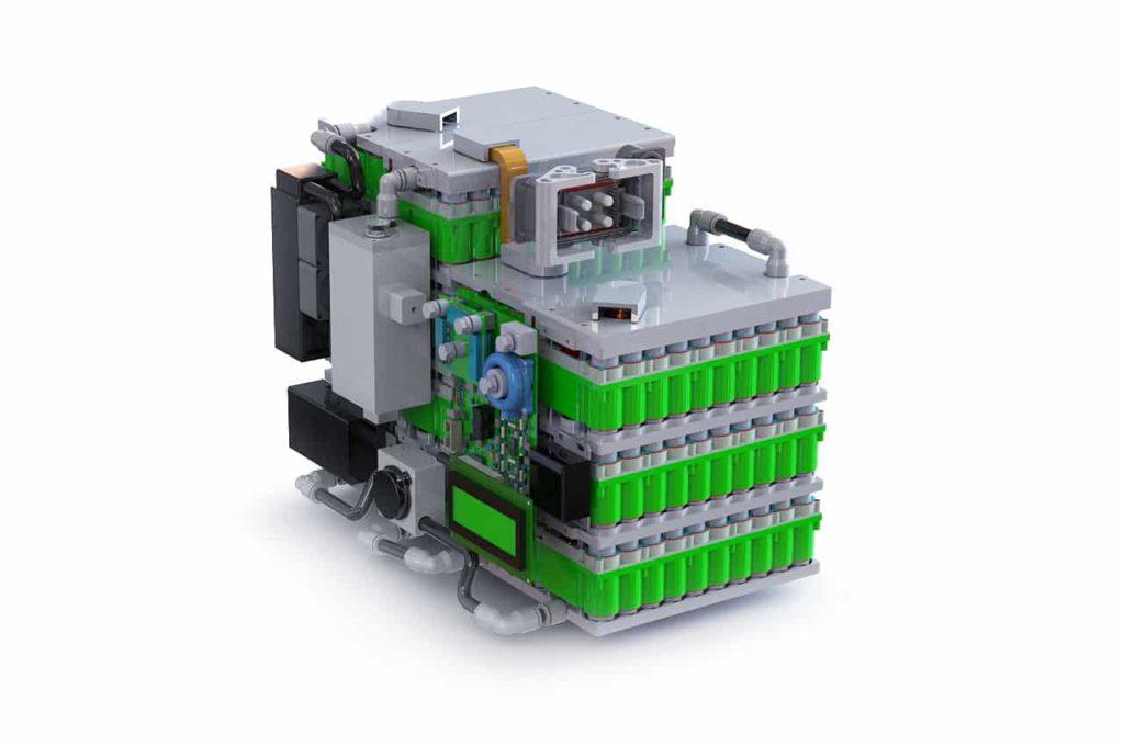 Kreisel High-Performance-Batterie