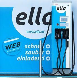 ELLA_Schnellladestation