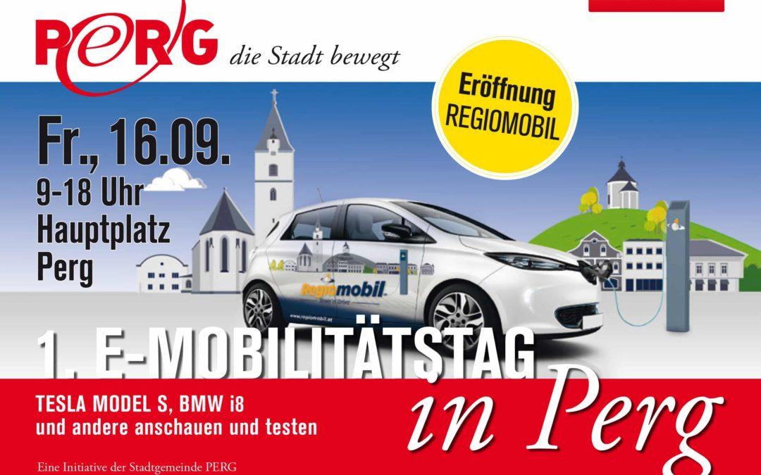 1. E-Mobilitätstag in Perg
