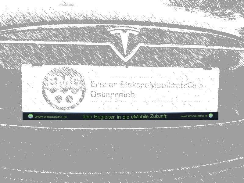 EMC-Aufkleber für Auto-Kennzeichenhalterung