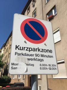 Kurzparkzone