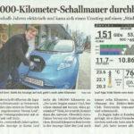 Pressespiegel » Lautlos die 100.000 km gr