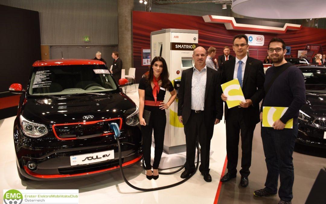 Der Elektromobilitäts-Club Österreich bei der Vienna Autoshow