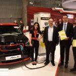 Der Elektromobilitäts-Club Österreich bei der Vienna Autoshow » EMC Smatrics Kia Soul