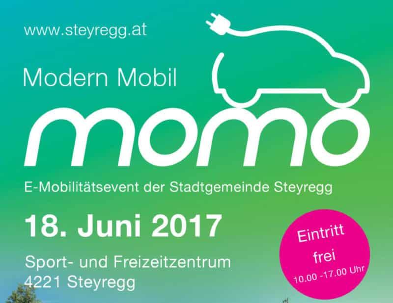 """""""momo""""- Modern Mobil Oberösterreichs größter E-Mobilitäts Event » Flyer Kopf e1492625042768"""