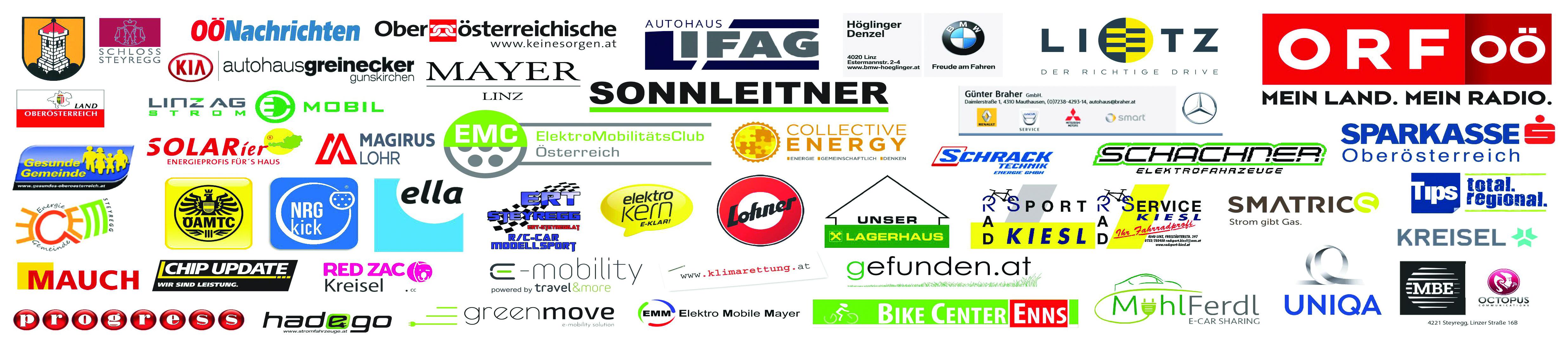"""momo""- Modern Mobil Oberösterreichs größter E-Mobilitäts Event » logoleiste 1"