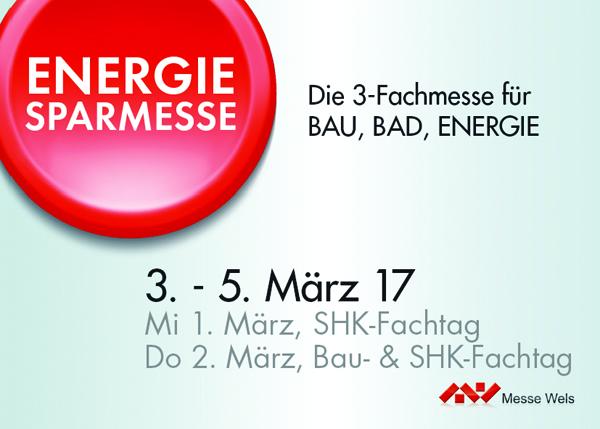 Verlosung von 10 x 2 Eintrittskarten für die Energiesparmesse Wels