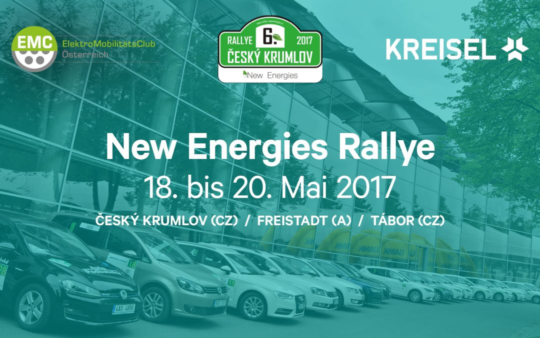 KREISEL Electric und der EMC Österreich starten bei der New Energies Rallye