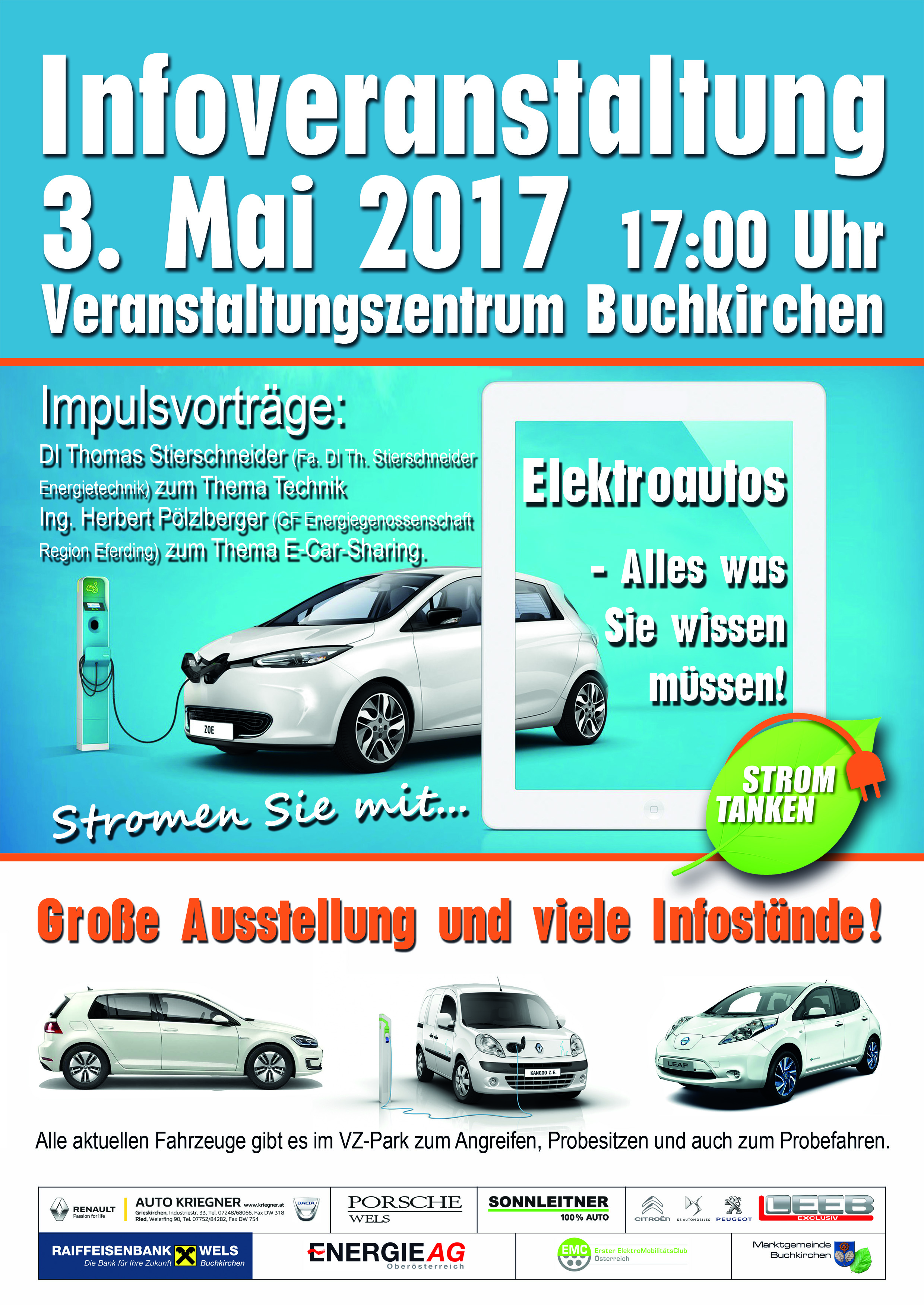 Infoveranstaltung in Buchkirchen » A4 Plakat