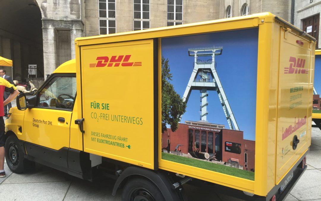 DHL bring den StreetScooter nach Österreich