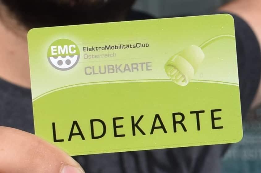 ElektroMobilitätsClub – MitgliedsKarte