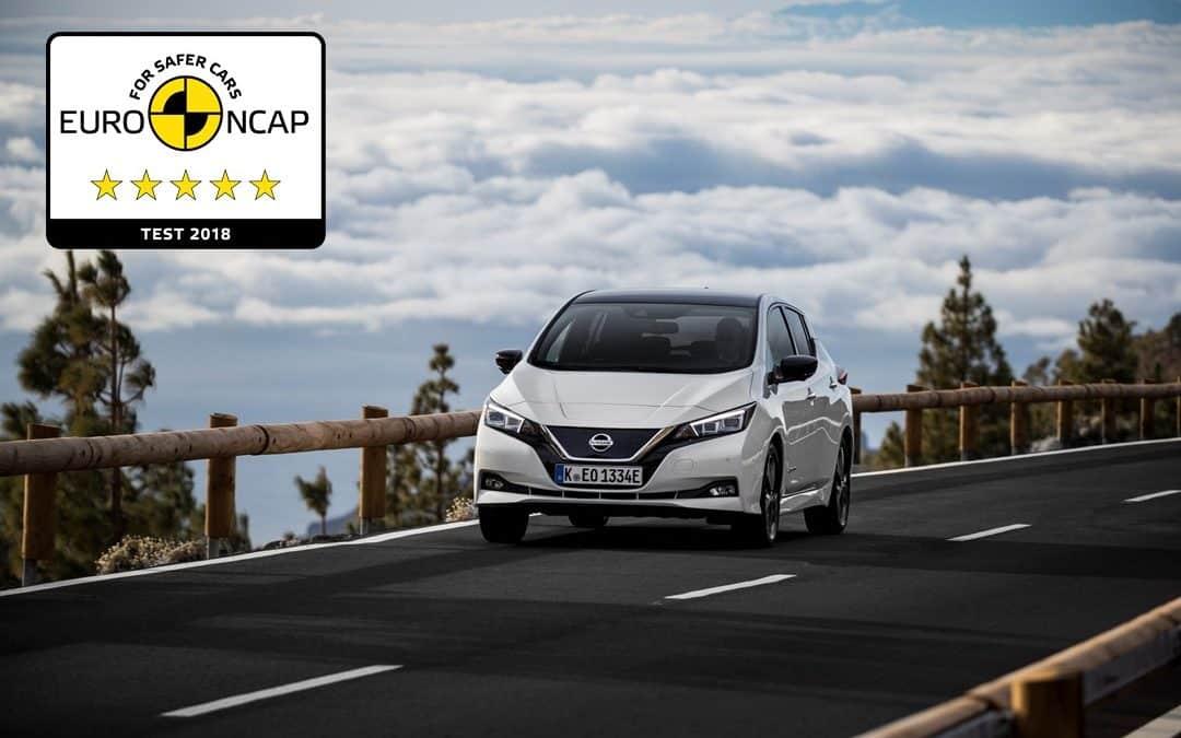 Nissan Leaf – ***** Sterne Euro NCAP Crashtest
