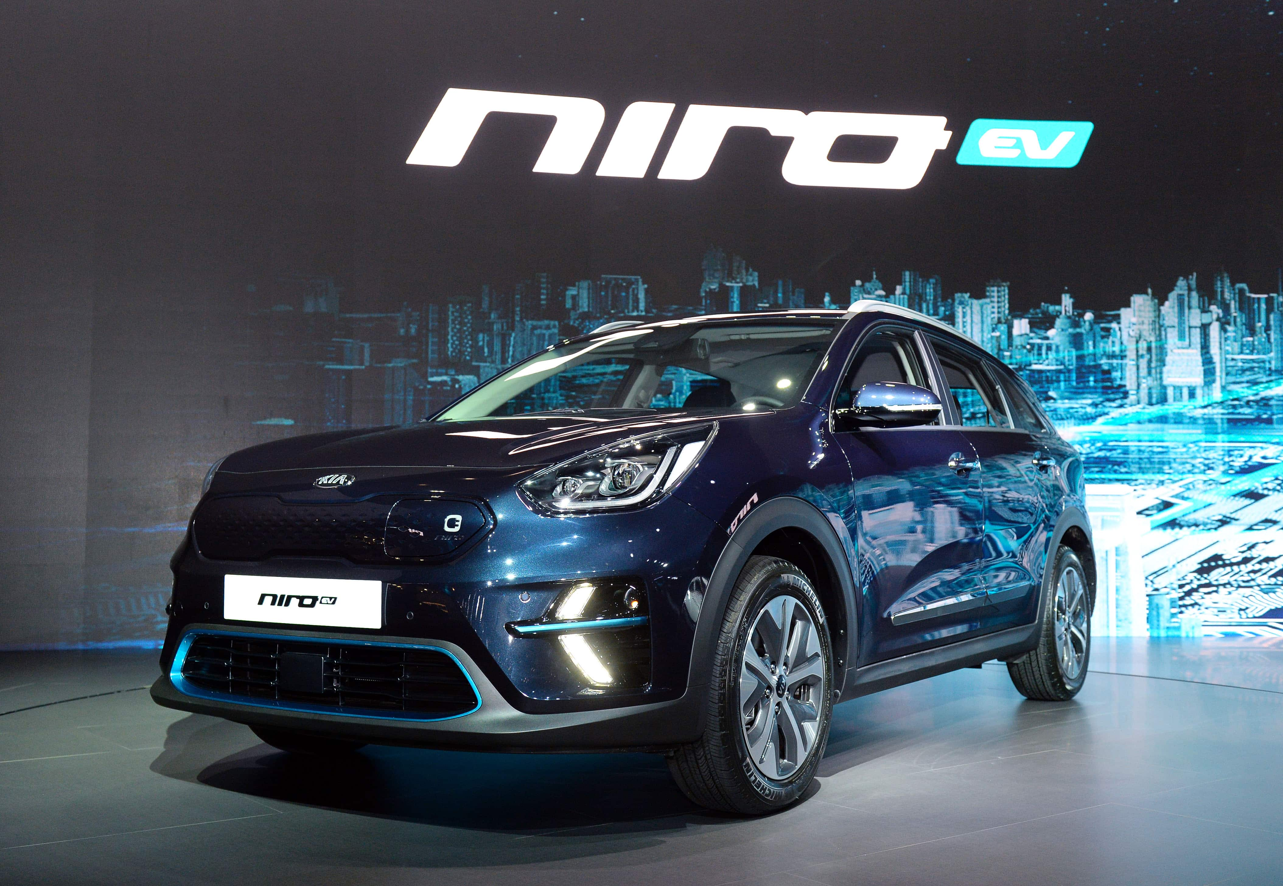 Crossover Kia NIRO EV, E-Mobilität mit wenig Kompromissen! » Kia Niro EV Busan Motorshow 1