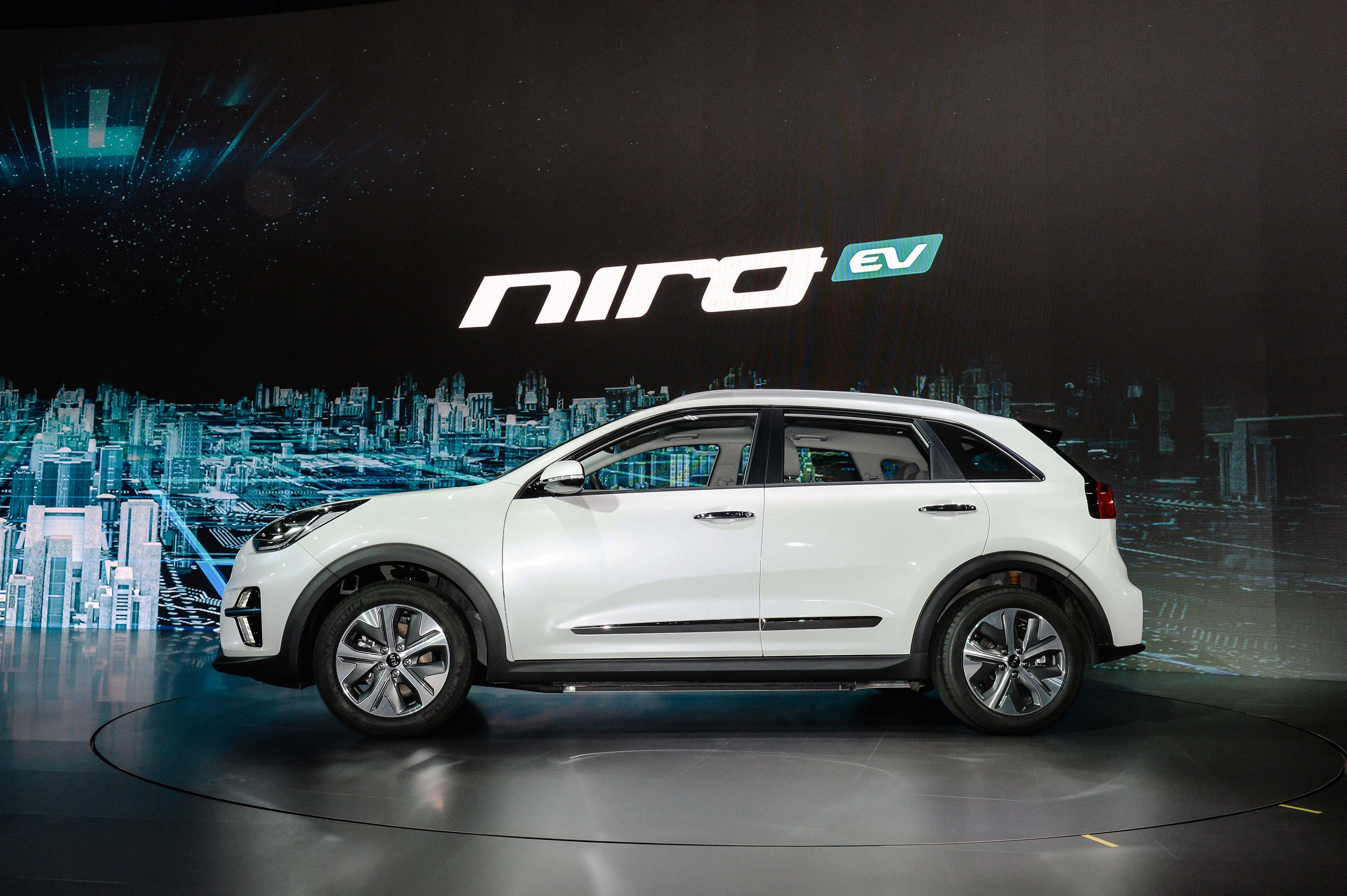 Crossover Kia NIRO EV, E-Mobilität mit wenig Kompromissen! » Kia Niro EV Busan Motorshow 2