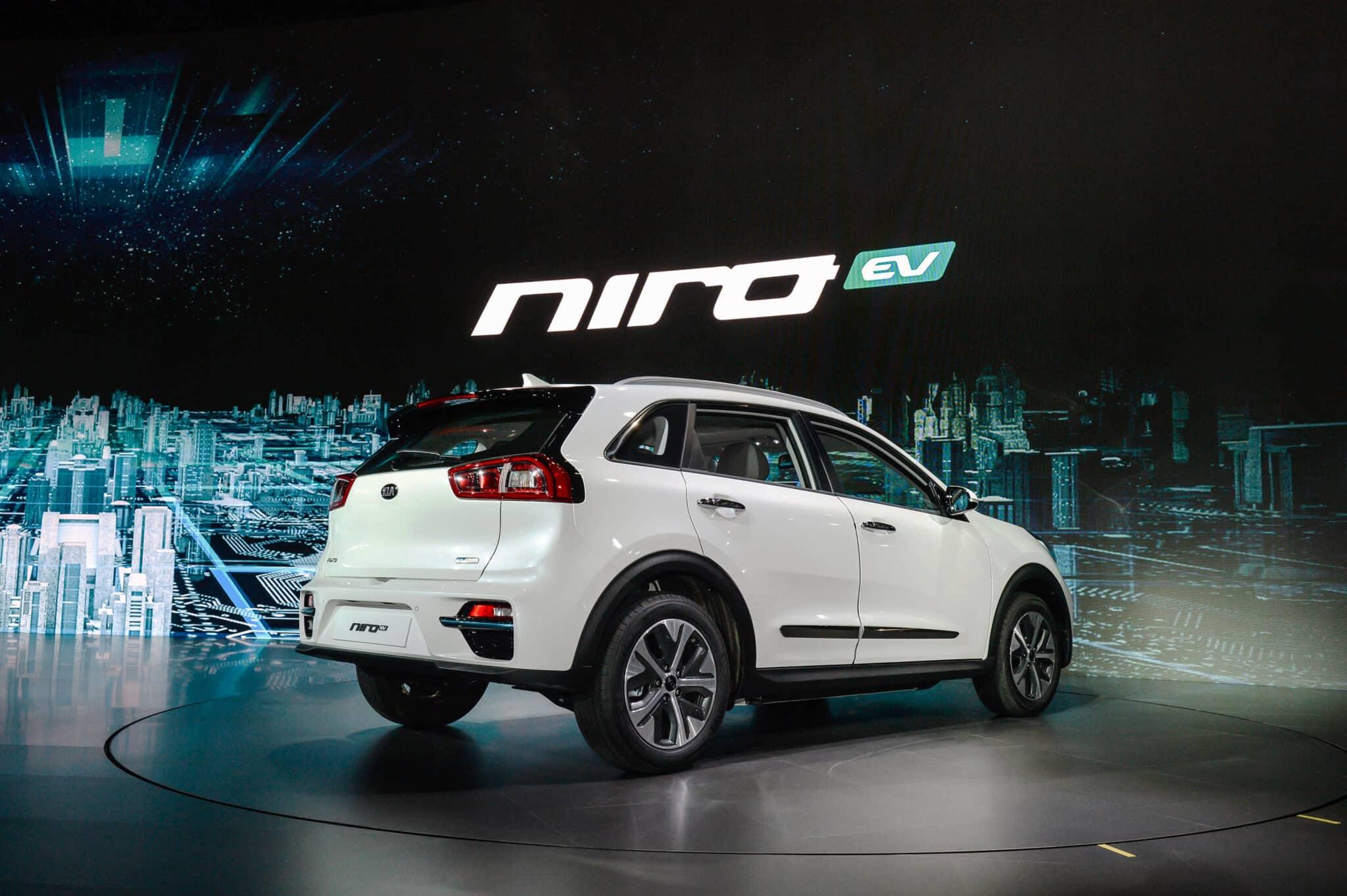 Crossover Kia NIRO EV, E-Mobilität mit wenig Kompromissen! » Kia Niro EV Busan Motorshow 3