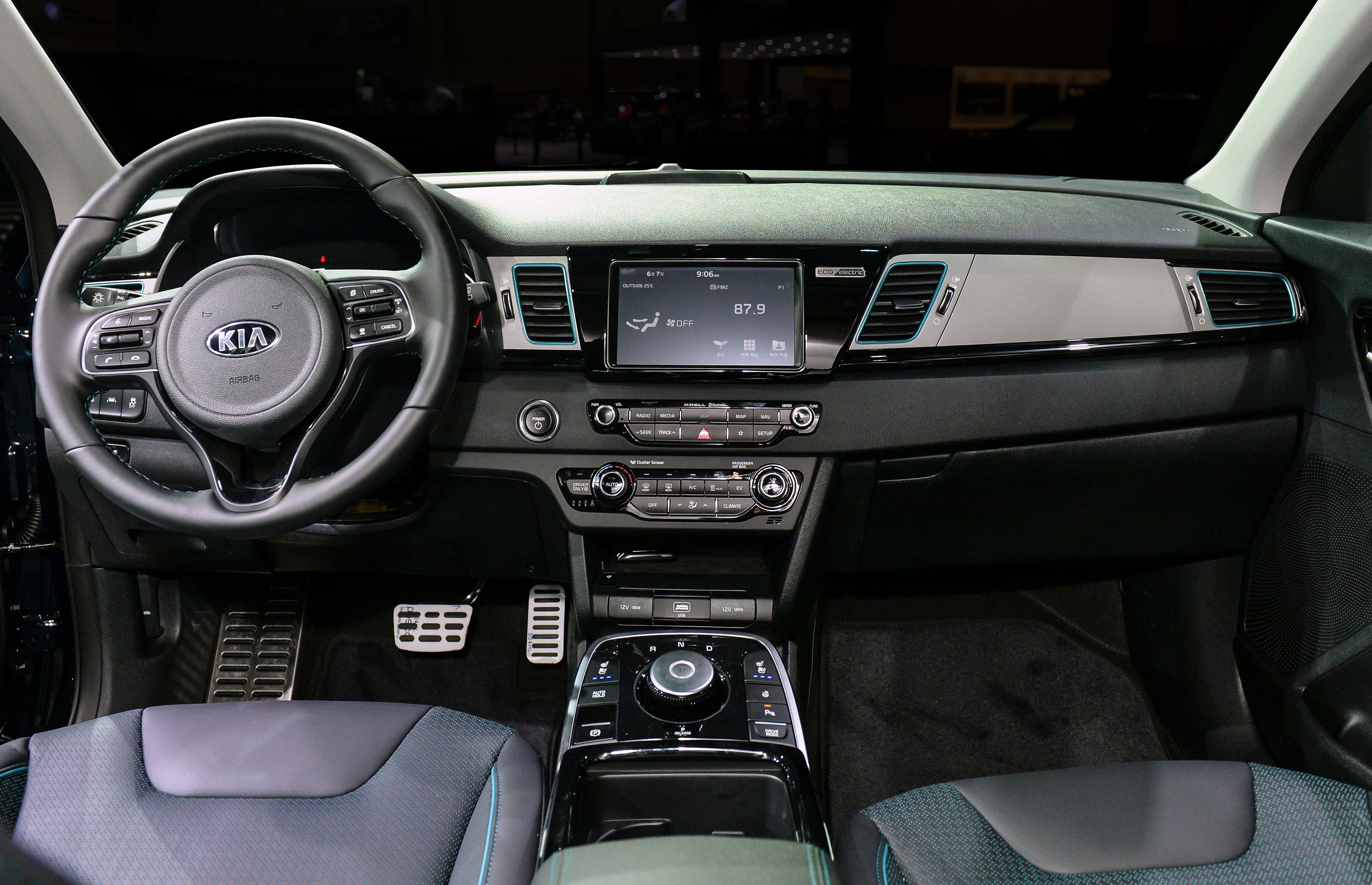Crossover Kia NIRO EV, E-Mobilität mit wenig Kompromissen! » Kia Niro EV Busan Motorshow 5