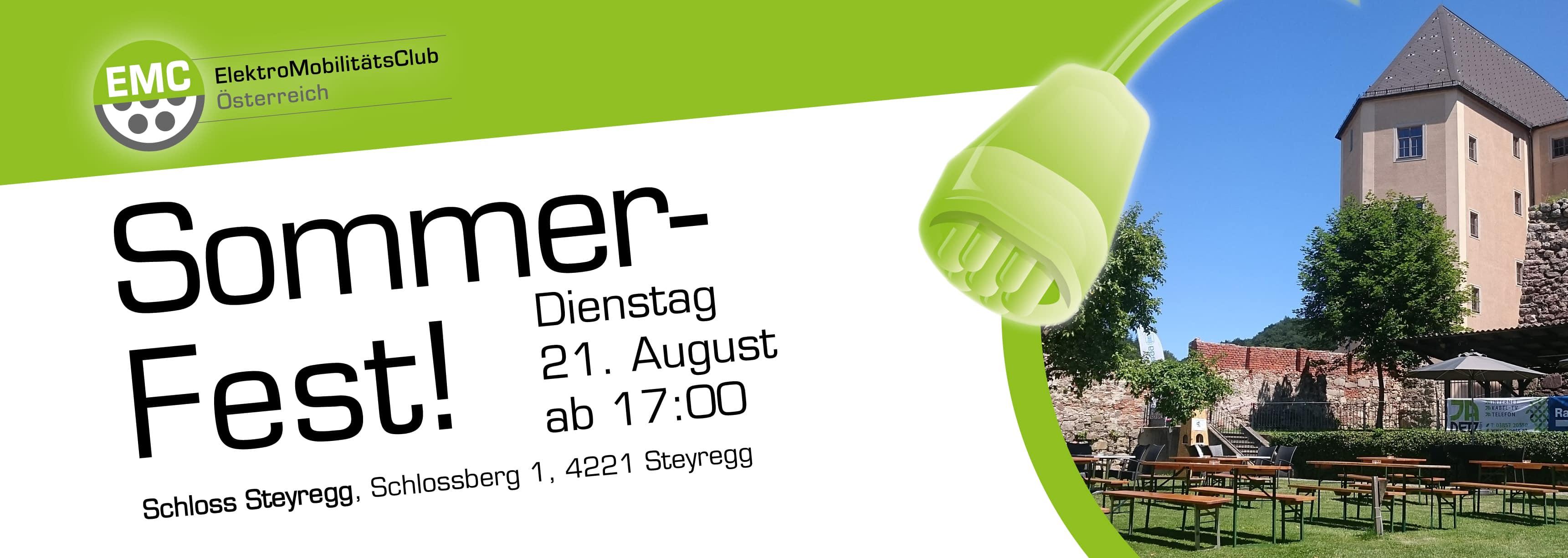 E-Mobility - Sommerfest / Kompetenztreffen OBERÖSTERREICH August »