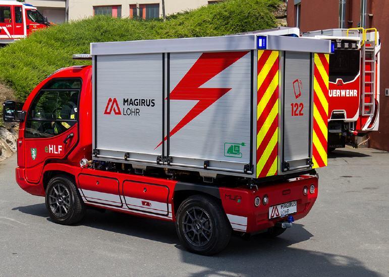 Magirus Lohr präsentiert erstes serienreifes, vollelektrisches  Löschfahrzeug der Welt! » isi3675 lbb