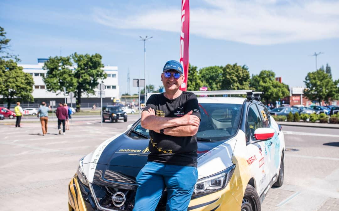 Abenteurer fährt neuen Nissan Leaf über 16.000 Kilometer und zwei Kontinente