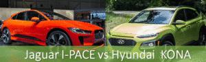 Jaguar I-PACE vs Hyundai KONA