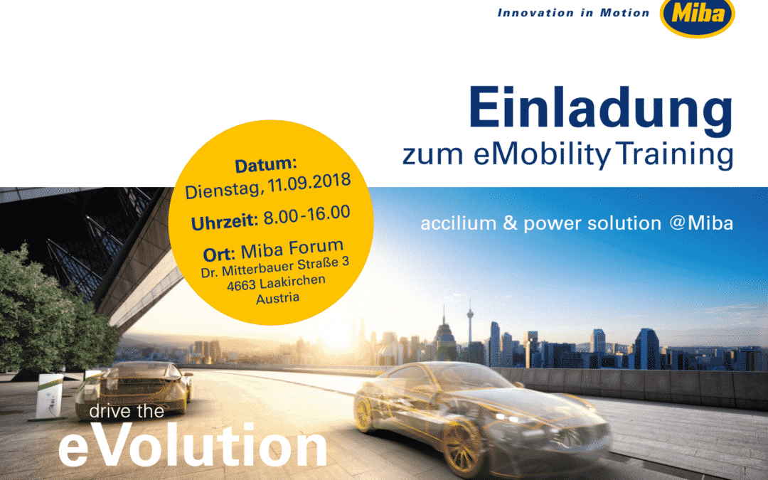 MIBA – eMobility Training
