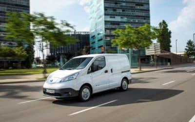 Der Nissan e-NV200: Emissionsfrei auf der letzten Meile