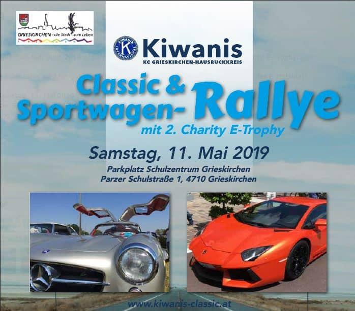 Kiwanis Rallye – 2. Charity E-Trophy