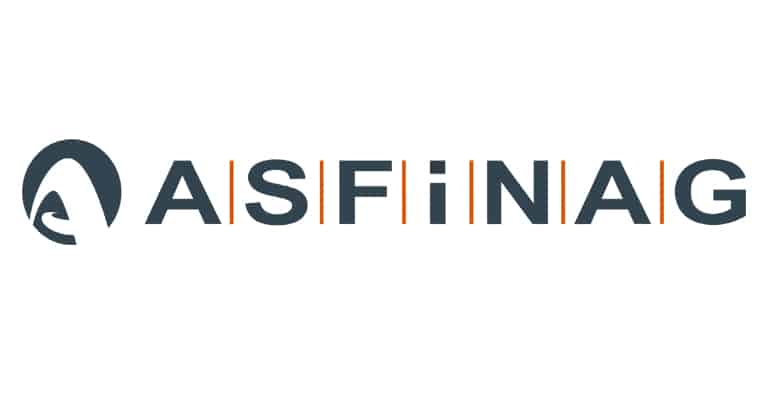 ASFINAG - Versprechen gehalten, Netzabdeckung erreicht! » HP Asfinag Logo