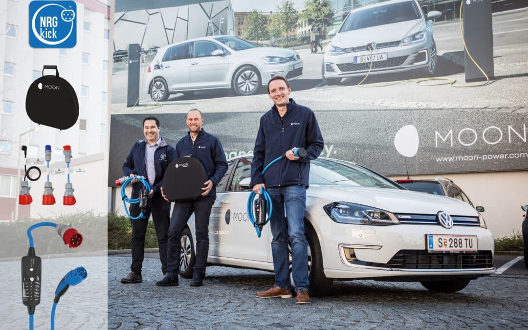 Porsche Holding Tochter MOON setzt auf NRGkick