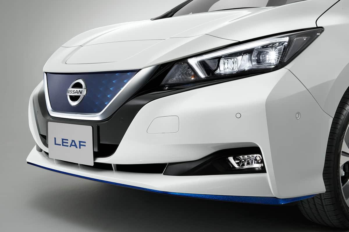 Mehr Leistung und größere Reichweite: Nissan Leaf 2019 » Exterior 09