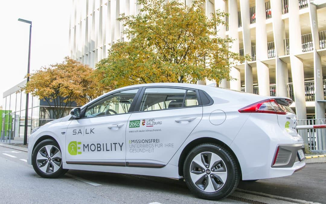Salzburger Landeskliniken werden zum Vorreiter in Sachen Elektromobilität