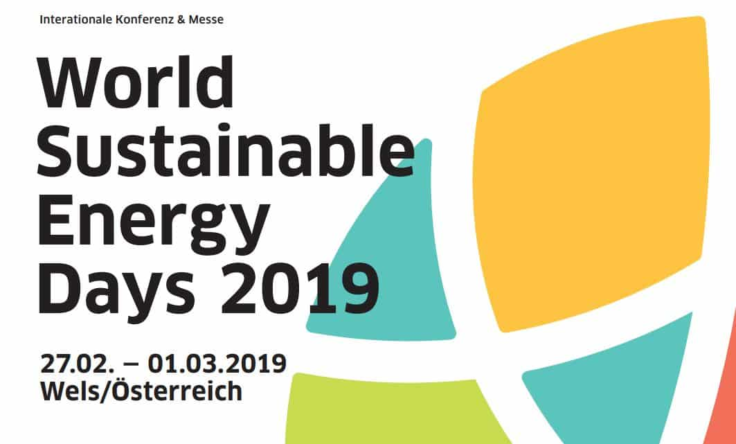 World Sustainable Energy Days » header