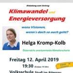 Klimawandel und Energieversorgung » Einladung Kromp Kolb page 001