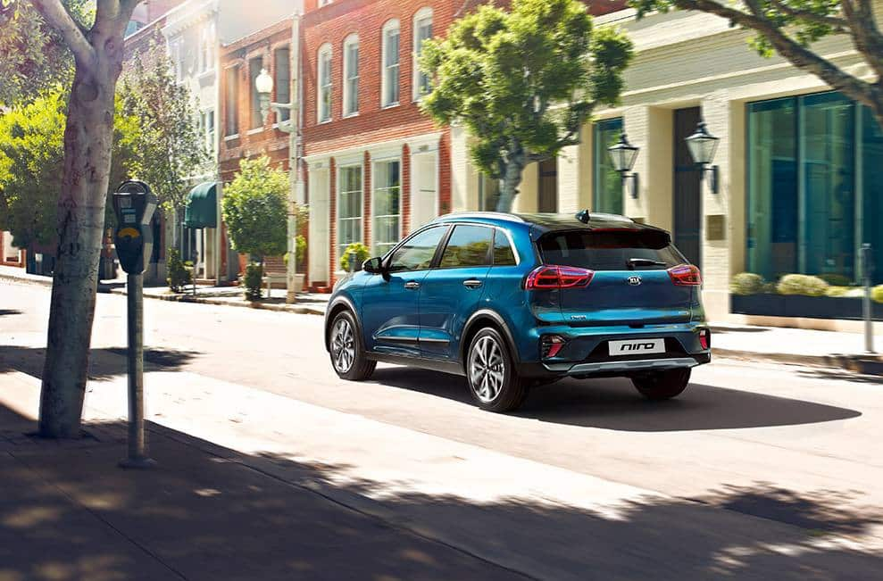 KIA - Genfer Autosalon » kia pressrelease 2019 PRESS HIGHRES HEV rear