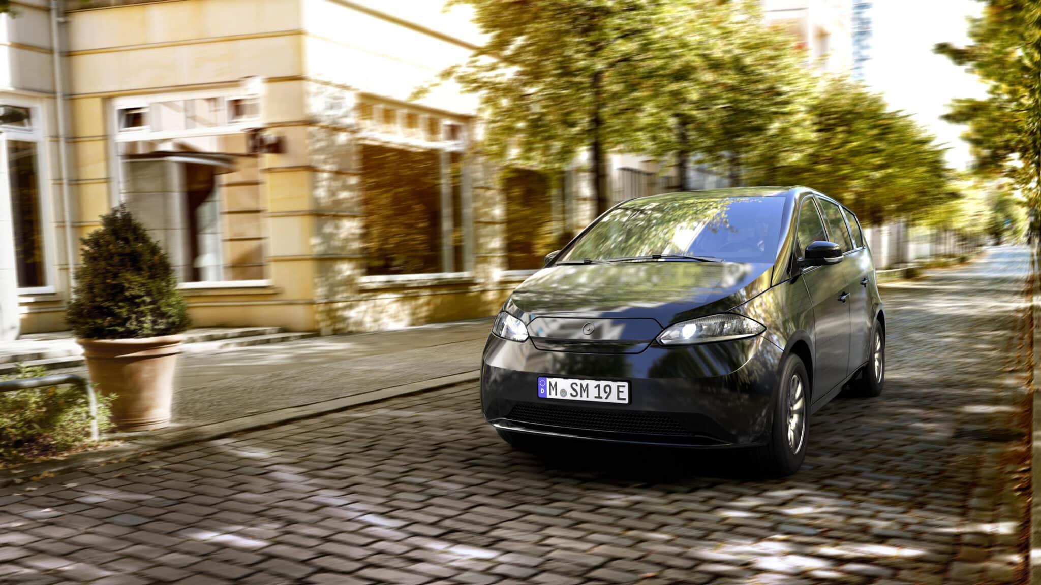 Sono Motors präsentiert Serien-Design des Sion » sono motors sion front view