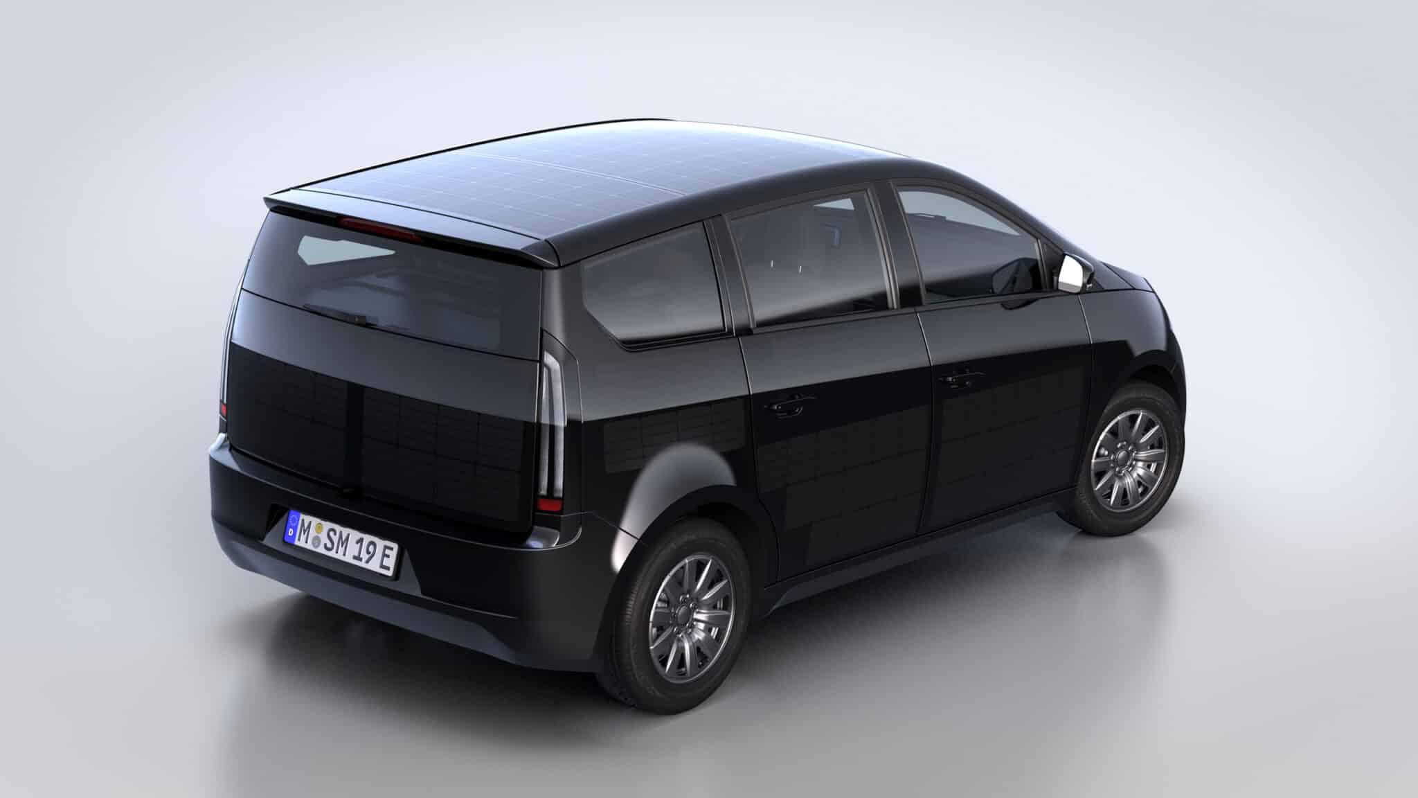 Sono Motors präsentiert Serien-Design des Sion » sono motors sion studio rear view