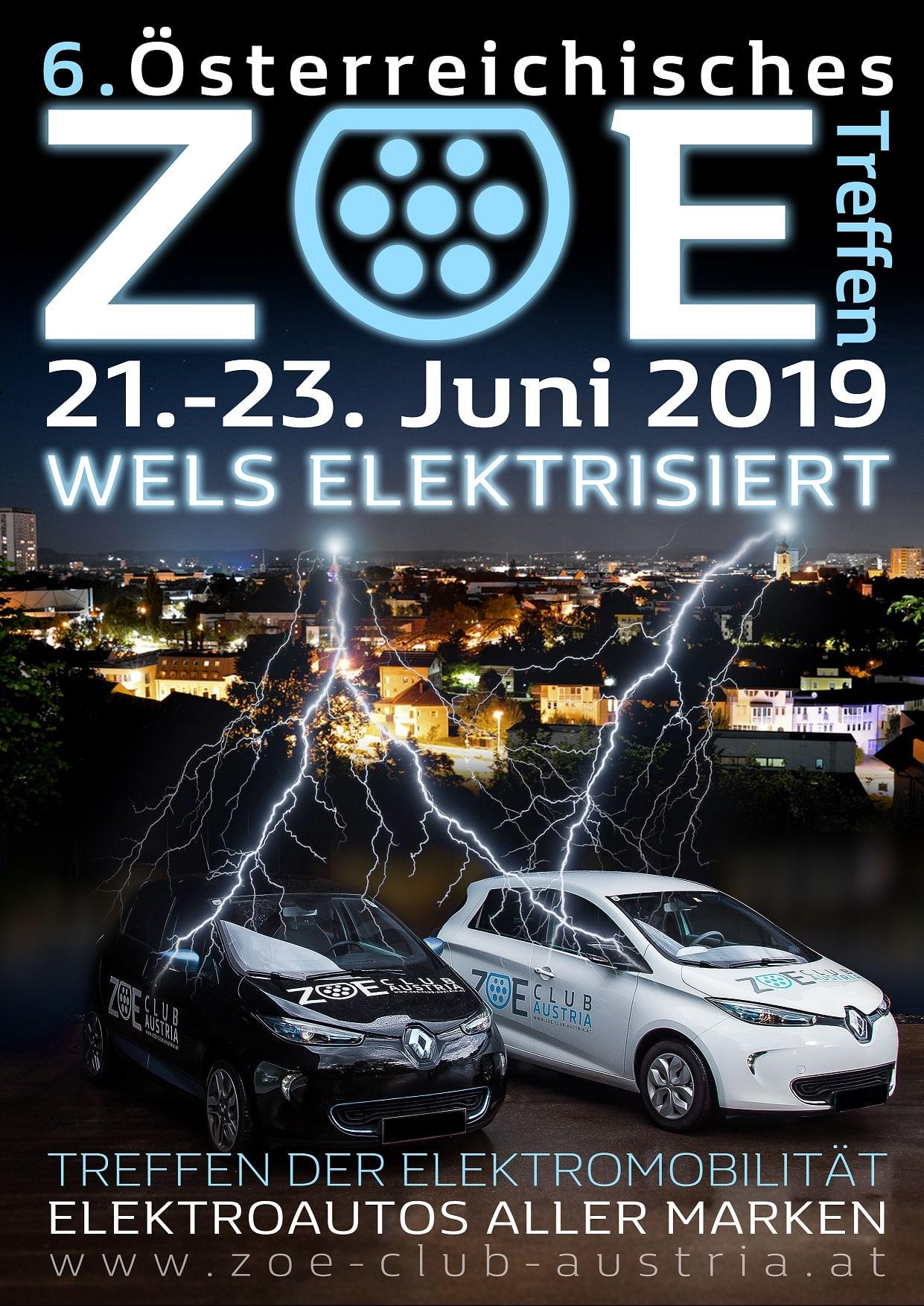 ZOE Treffen - WELS ELEKTRISIERT » Flyer ZOE Treffen