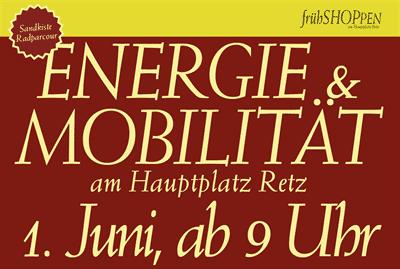 Frühshoppen / Energie und Mobilitätstag in RETZ