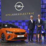Der neue Opel Corsa-e » 2019 Opel goes Electric Adams Lohscheller Mueller 507076 min