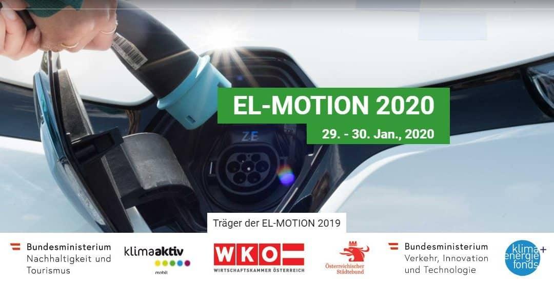 EL-MOTION 2020 – der 10. österreichische Fachkongress rund um E-Mobilität für KMU und kommunale Anwender